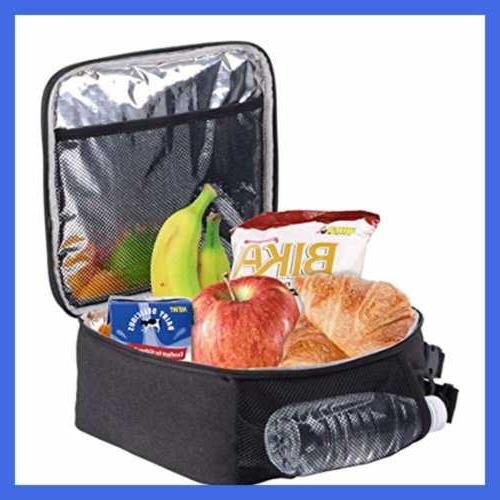 Insulated Lunch Bag Tote For Men Woman Teen Office Meal