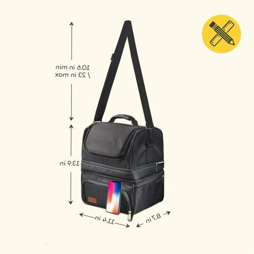 SABLE Insulated Cooler Large Bento Lunch Box Women