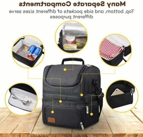 Cooler Extra Bento Lunch Box Bag Women