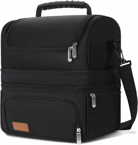 insulated lunch bag cooler extra large bento