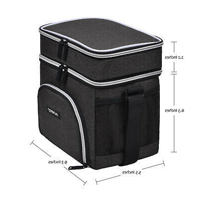 Insulated Bag Compartment Thermal Leakproof Cooler