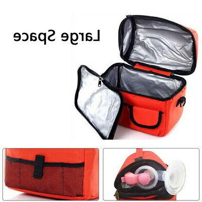 Insulated Lunch Women Kids Tote Food Lunch Box Waterproof US