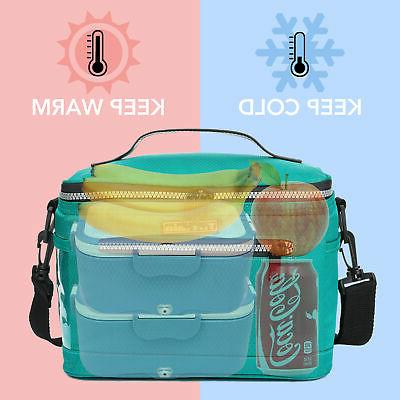 Insulated Lunch for Women Men Tote Cooler Work School