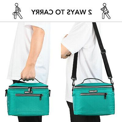 Insulated for Women Men Lunch Tote Cooler School