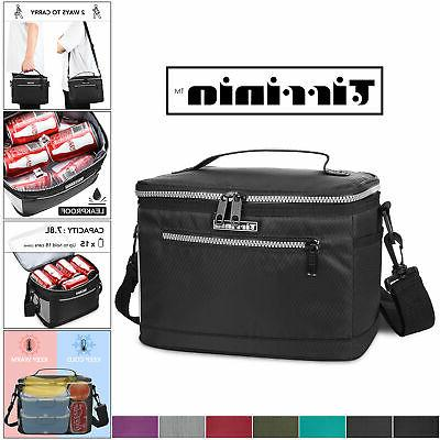 insulated lunch bag for women men leakproof