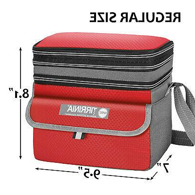Minimalist Insulated Cooler Bag Tote, Leakproof Lunch
