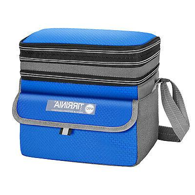 insulated lunch bag leakproof expandable reusable lunch