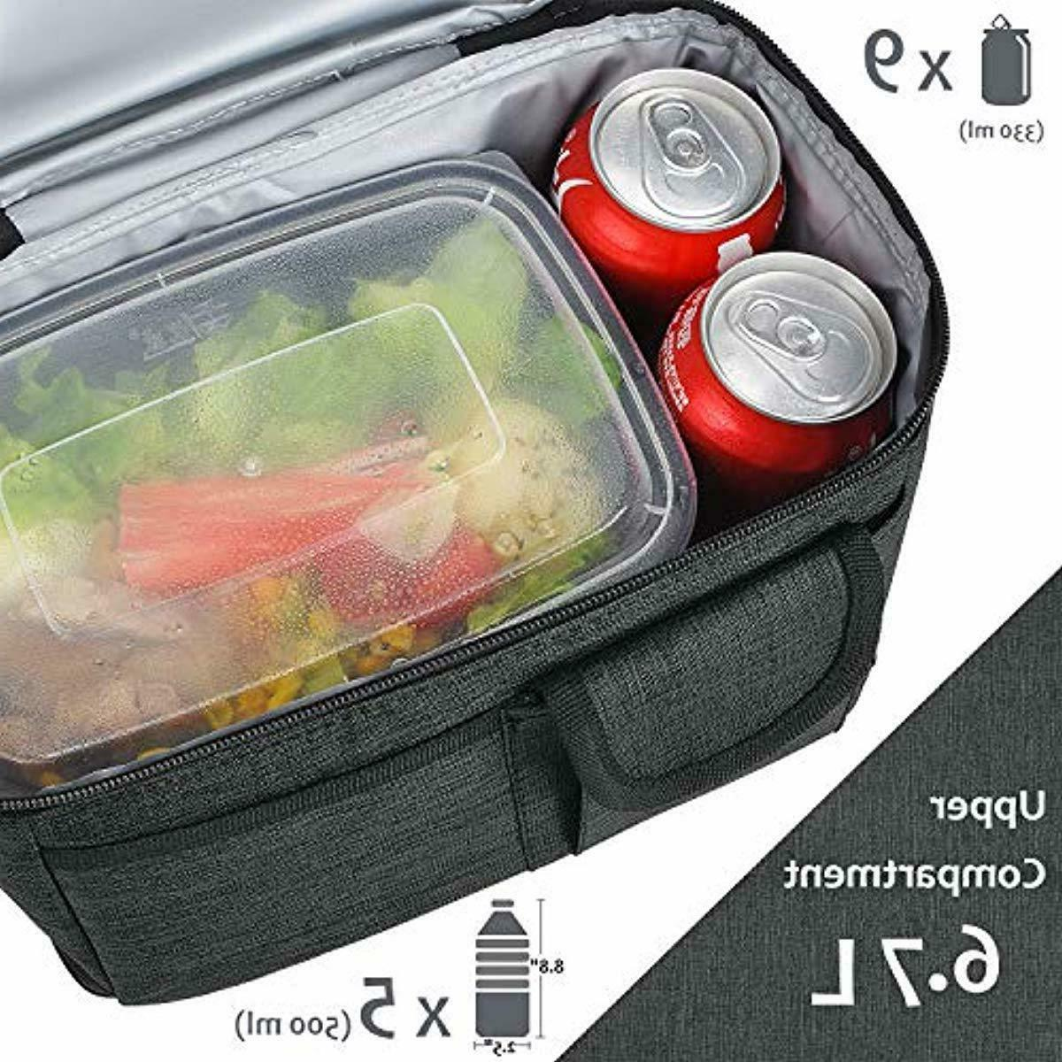 1Insulated Bag, Thermal Bento Cooler for NeW