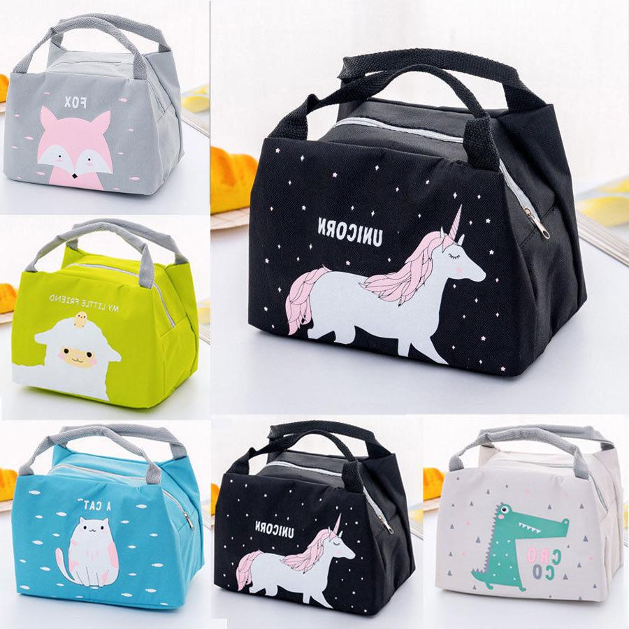 Insulated Lunch Thermal Cooler Women Kids Picnic Food Carry Bags