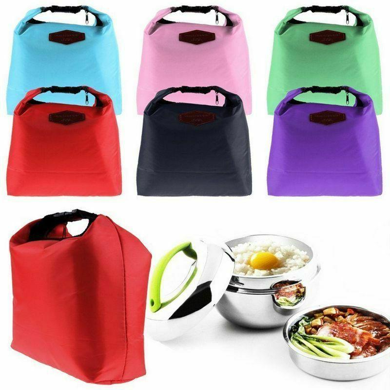 Insulated Cooler Kids Picnic Food Tote Bags