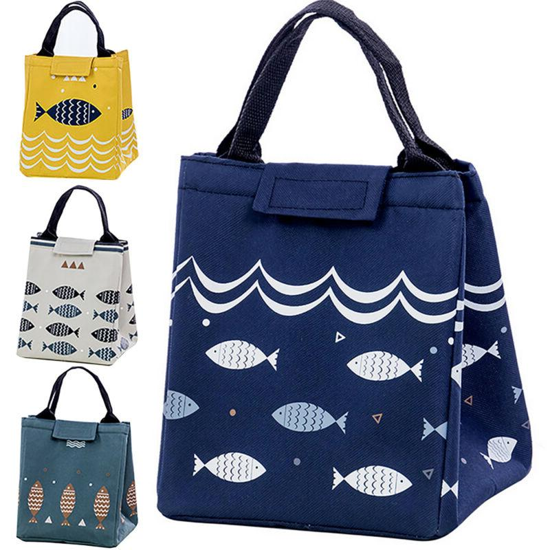 Insulated Lunch Bag Thermal Cooler Food Bags