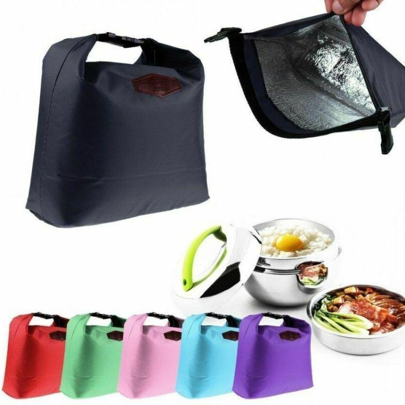 Insulated Lunch Cooler Food Box Tote Bags