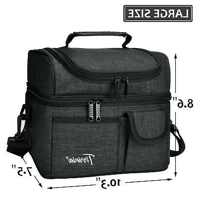 Insulated Lunch Bag Cooler Leakproof Thermal Bento