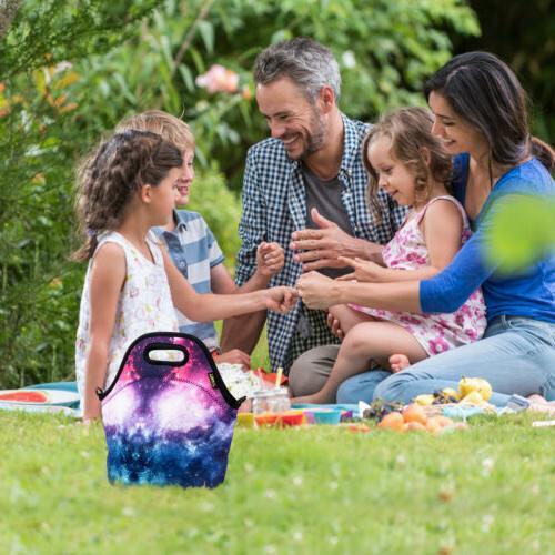Thermal Neoprene Bags for Women Kids School Men Insulated