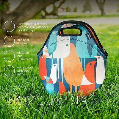 ARTOVIDA Insulated Bag Soft Lunch Tote for Boys