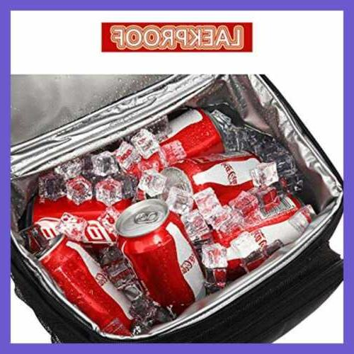 Insulated Reusable Lunch Bag Adult Box For Women