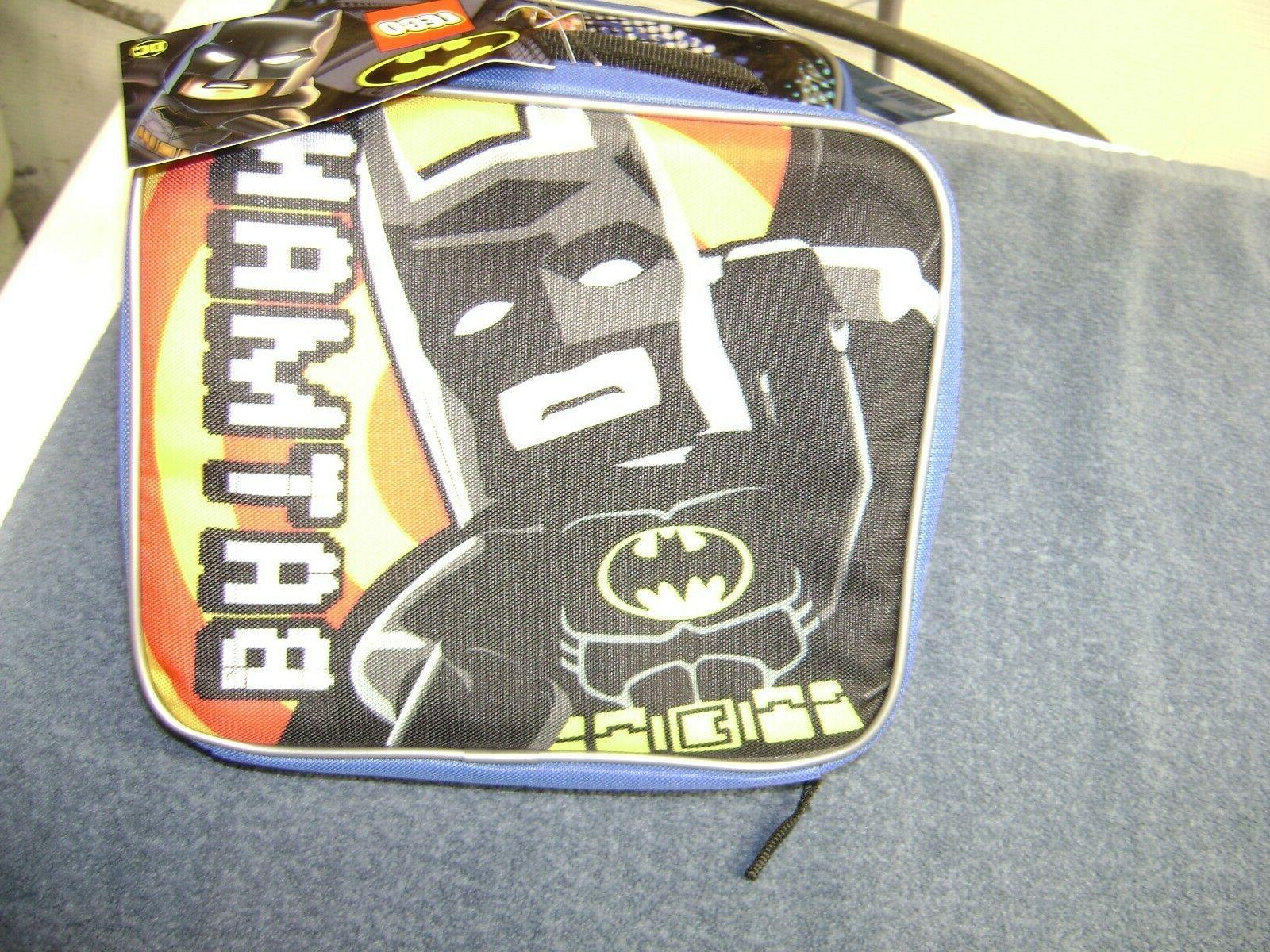 Kids Lunch Bag Tote For School Insulated LEGO NEW