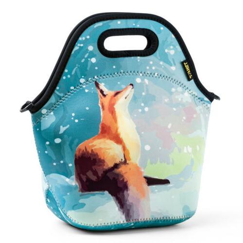 Neoprene Lunch Bag Cute Lunch Bags for Women Kids Girls Men