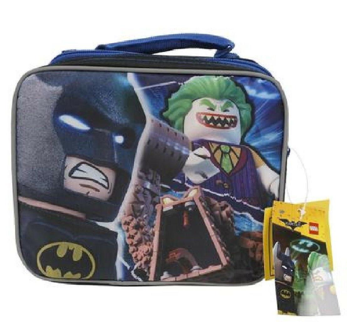 licensed lego batman 9 5 lunch bag