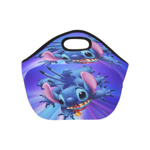 InterestPrint Lilo Stitch Ohana Picnic Lunch Bag