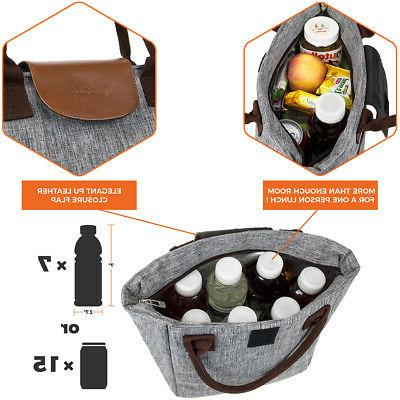 Lunch Bag Thermal Insulated Tote Picnic