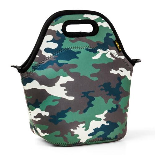 Thermal Neoprene Lunch Bags for Women School Men Lunch Insulated