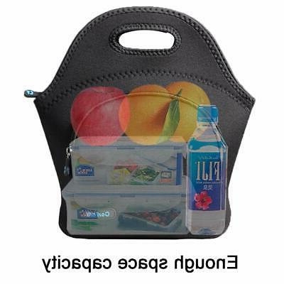 Neoprene Insulated Lunch Tote for Men Kids