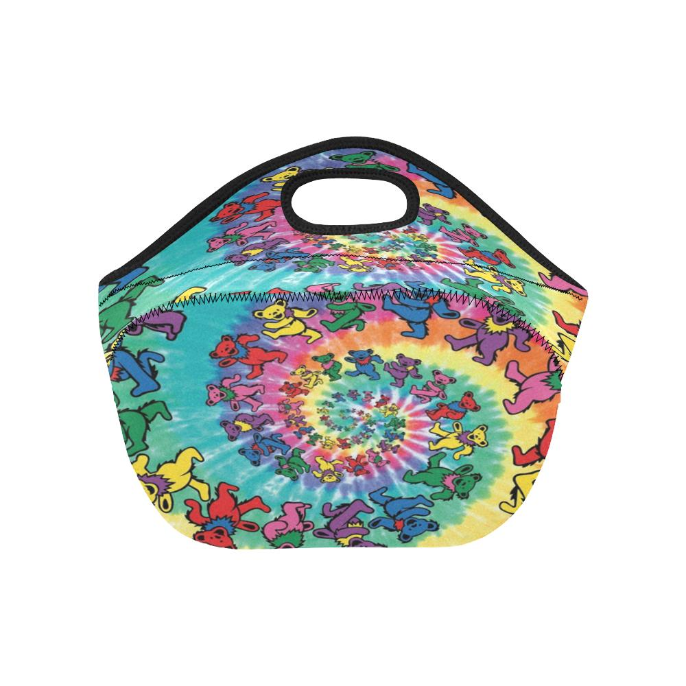 New Custom Grateful Dead Picnic Box Lunch Bag