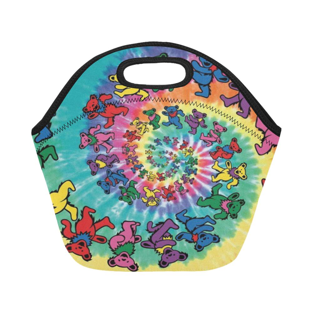 new fashion custom grateful dead lunch container