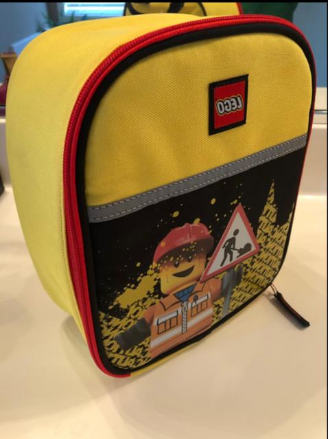 NWT MINIFIGURE CITY School Lunch Tote Bag