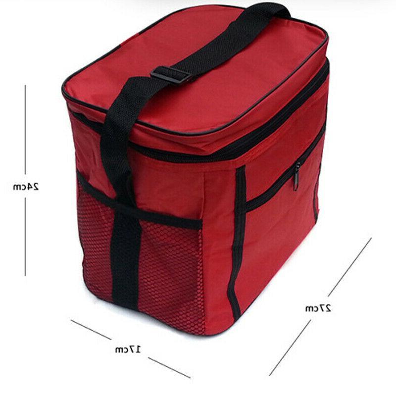 Portable Insulated Bento Box Tote Picnic