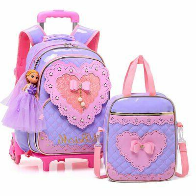 Girls Pencil Case&Lunch Bag School Bags