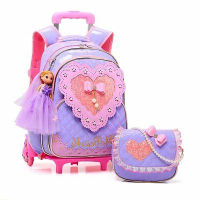 Meetbelify Rolling Girls Bag