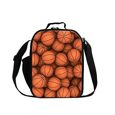 soccer printed lunch bags for boys cool