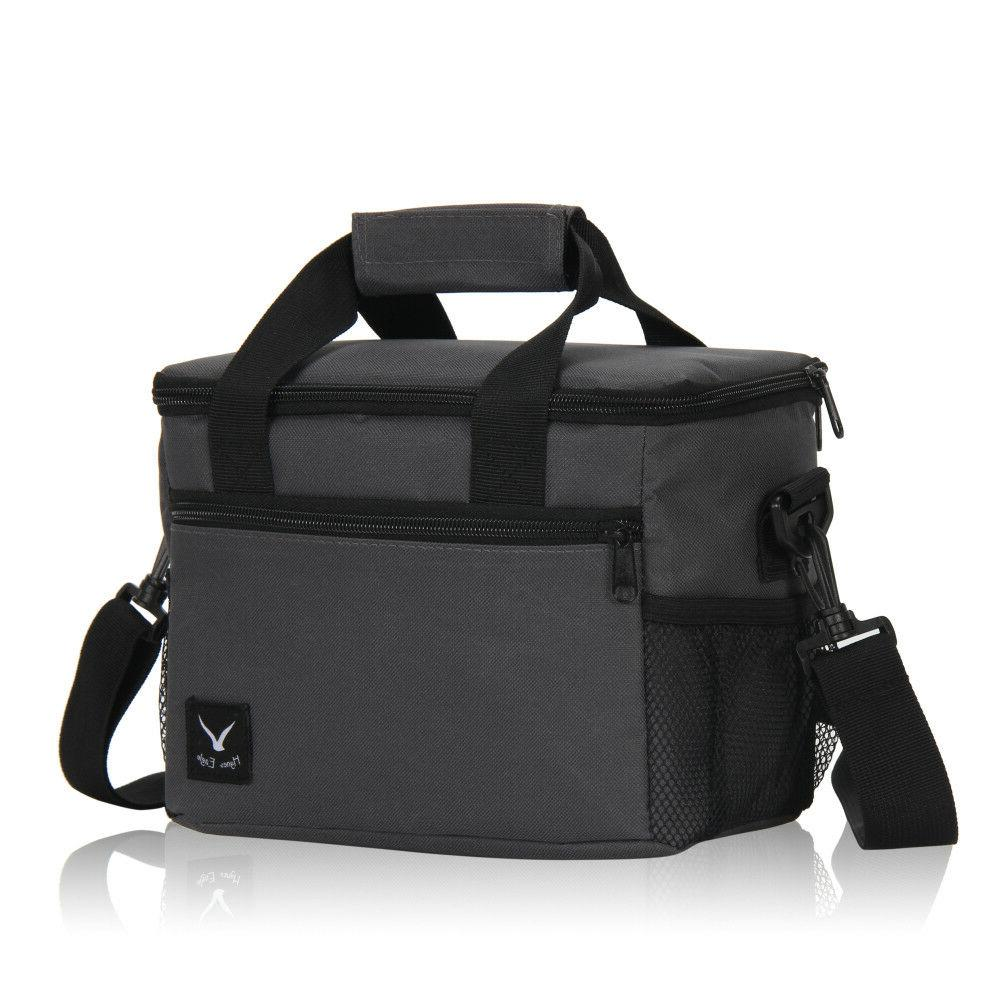 thermal lunch box bag tote drinks cooler
