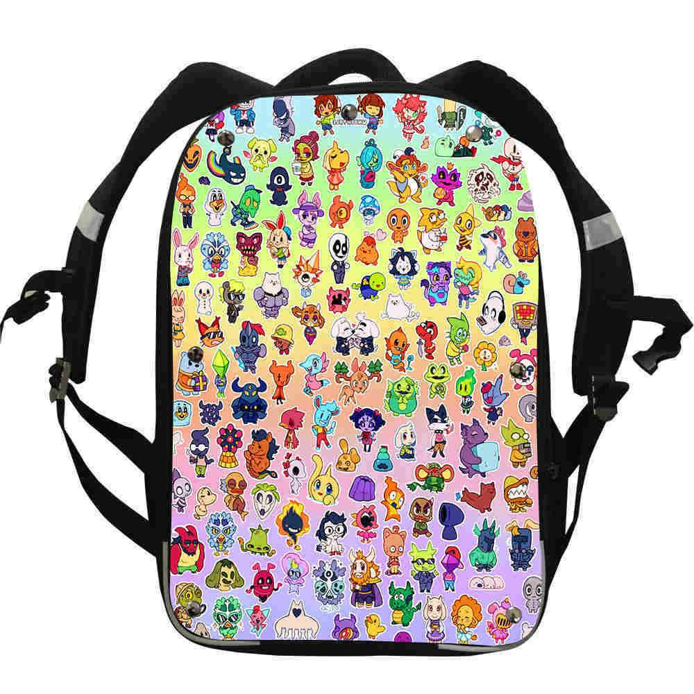 undertale backpack for girls boys kids school