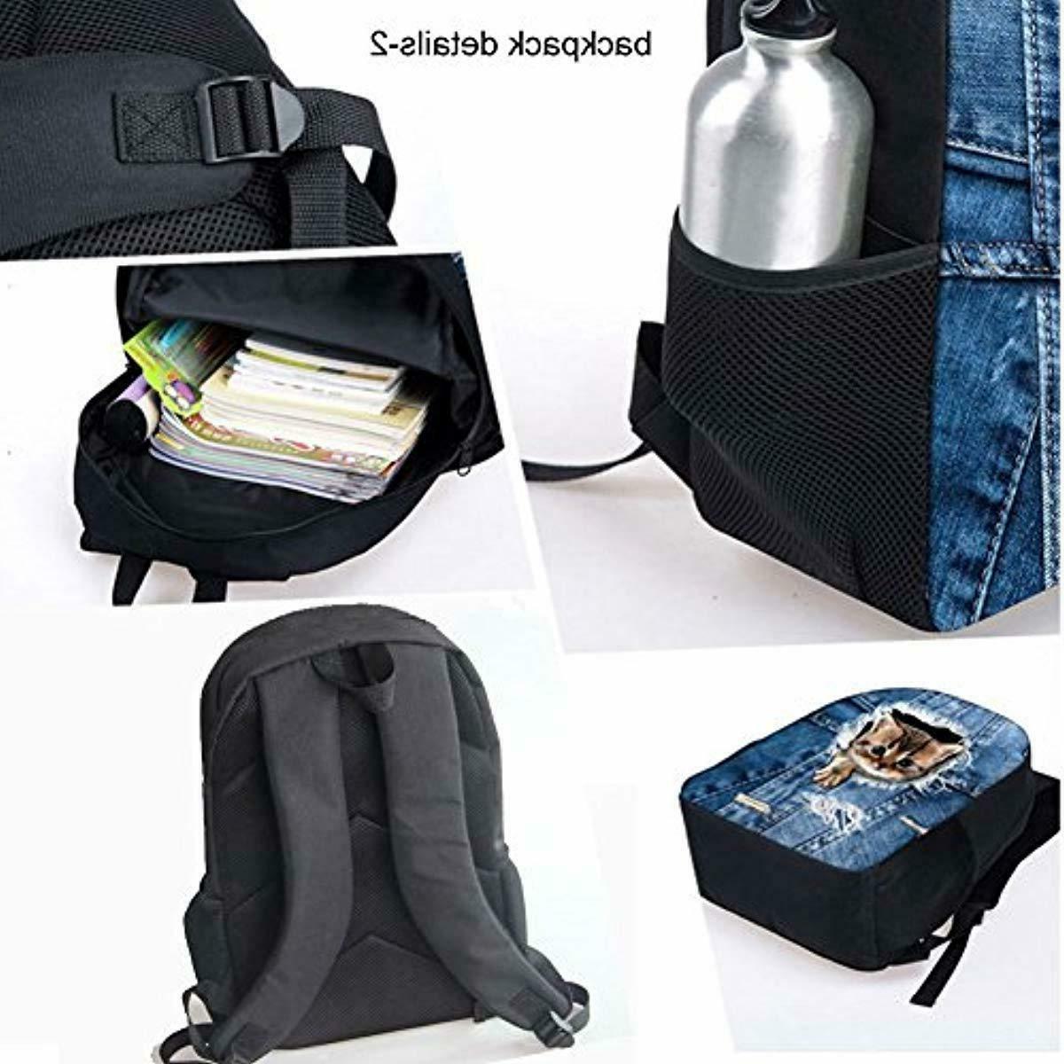 UNICEU Football Backpacks Kids Thermal Lunch Bags