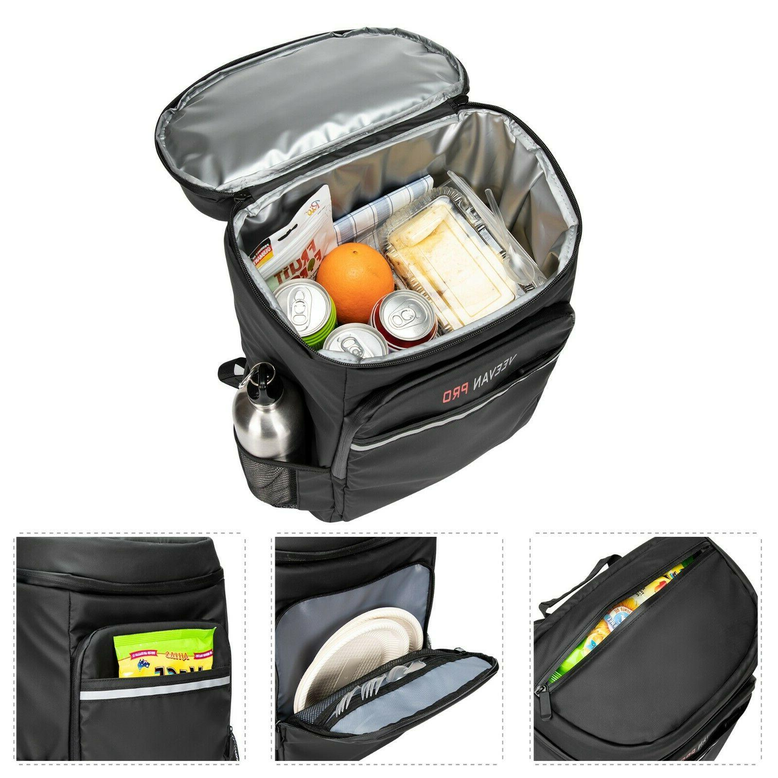 Waterproof Insulation Refrigerated Backpack 33L Lunch