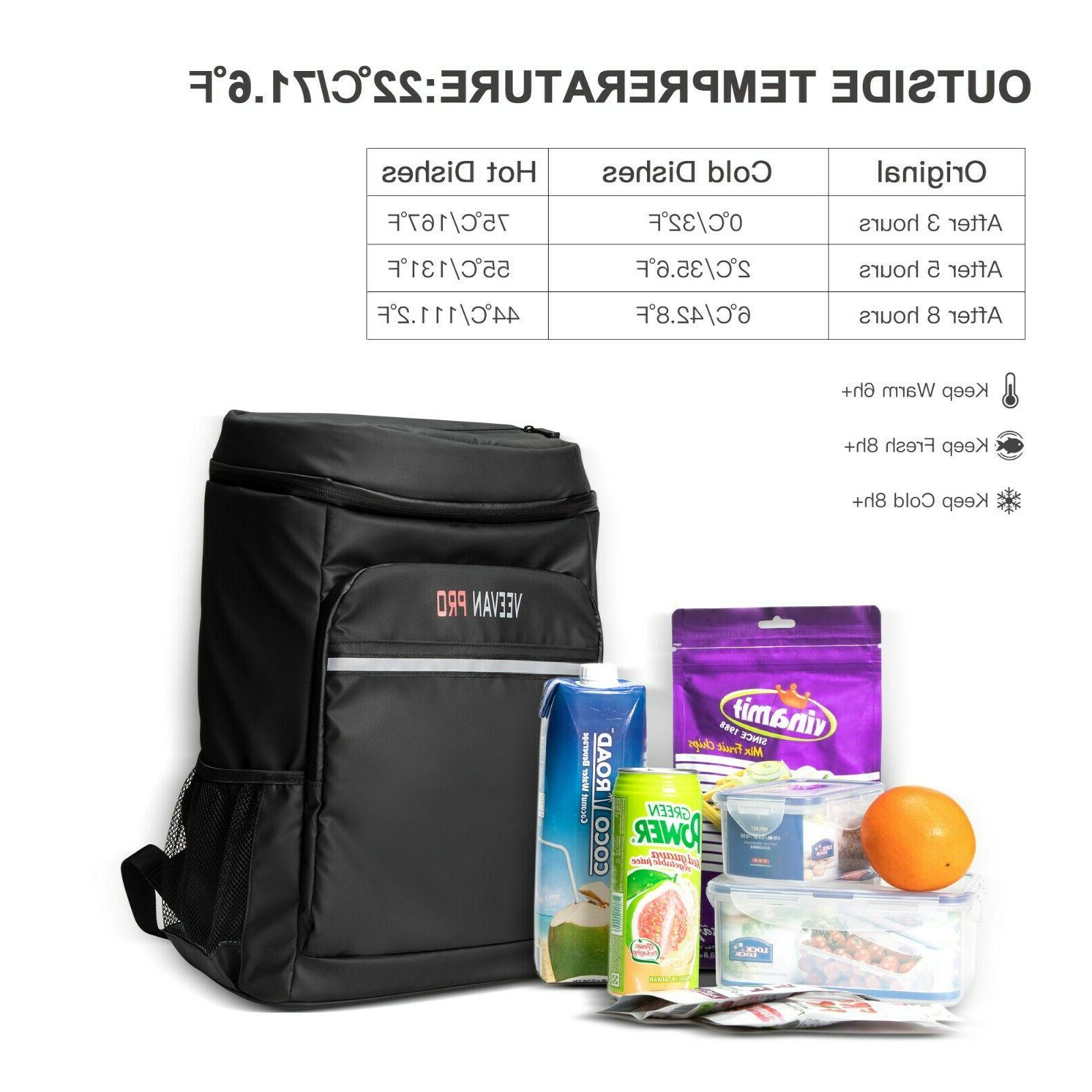 Waterproof And Insulation Backpack Lunch