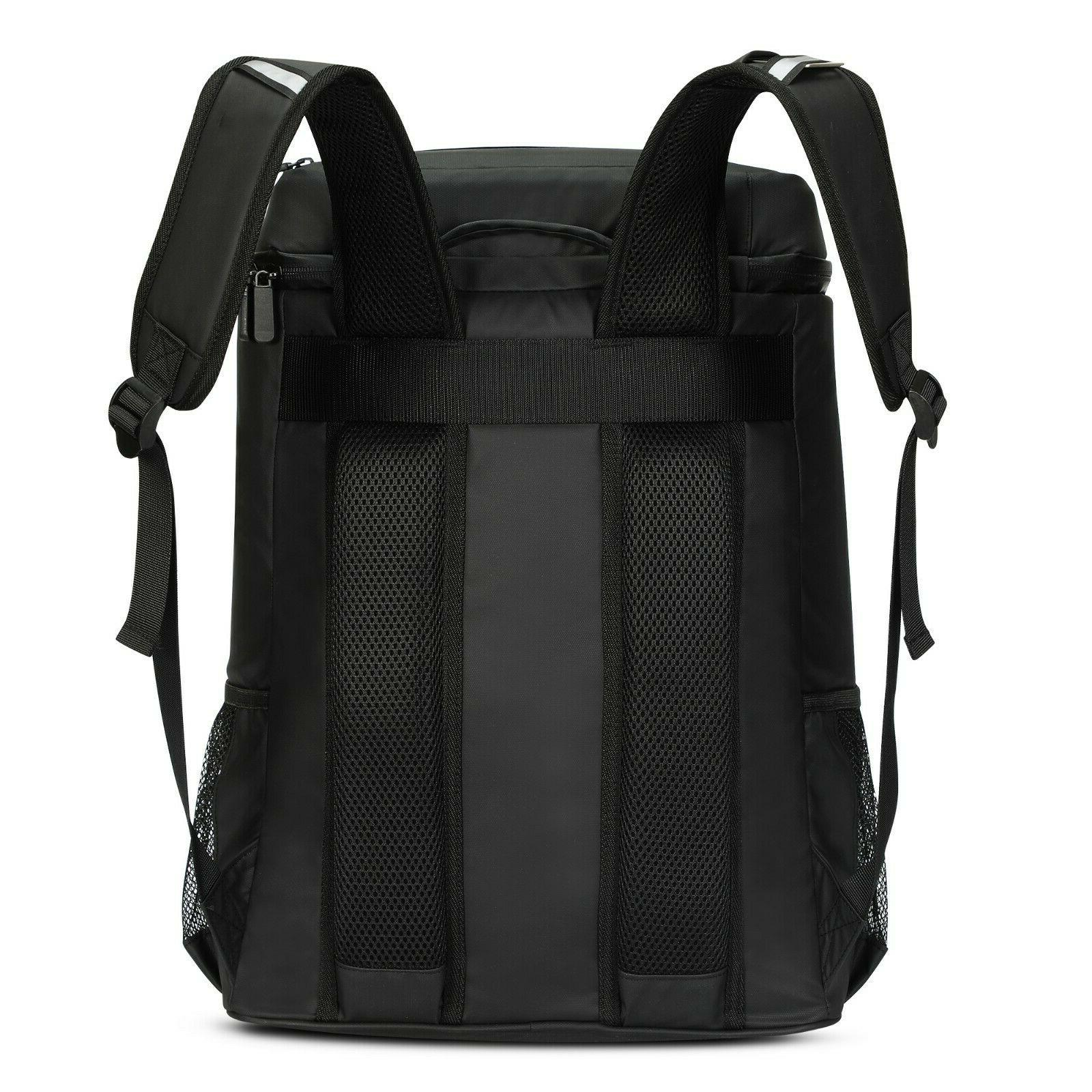 Waterproof And Large Insulation Refrigerated Backpack 33L Lunch Bags