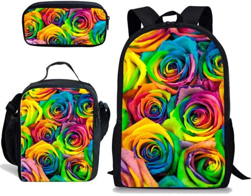 FOR U DESIGNS Women Backpack Insulated Thermal Lunch Bags Ch