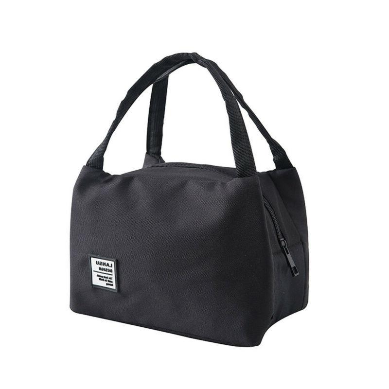 US Women Men Insulated Bag Thermal Cooler Lunch Bags
