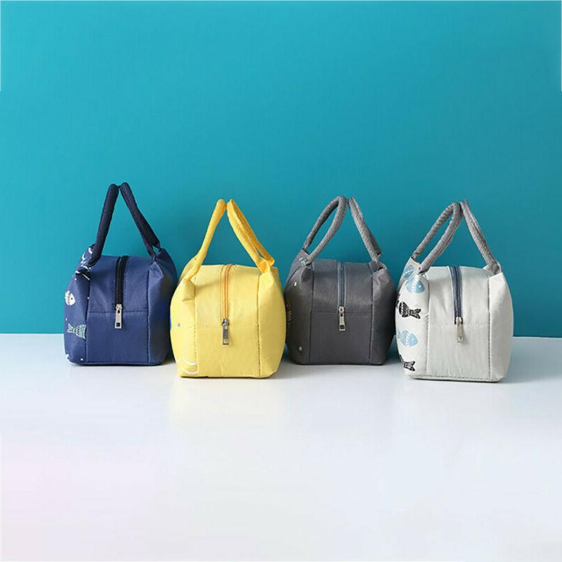 Women Men Insulated Canvas Bags 8754