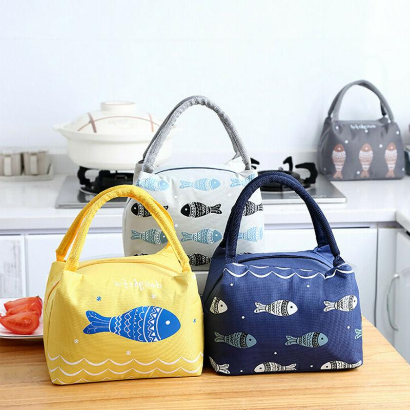 Women Kids Thermal Cooler Lunch Bags