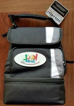 Leed's Insulated Kids Adults Lunch Bag Box with Storage Cont