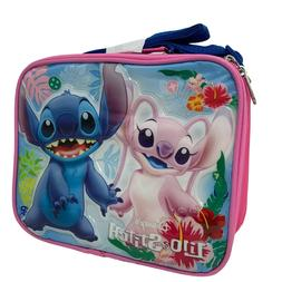Disney Lilo and Stitch Insulated Lunch Bag with Adjustable S