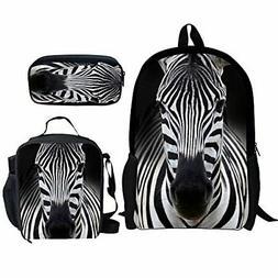 Bigcardesigns Little Kids School Bags Set Backpack Lunch Bag