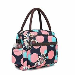 Lunch Bag For Women Tote Bags Container Holder Water Resista