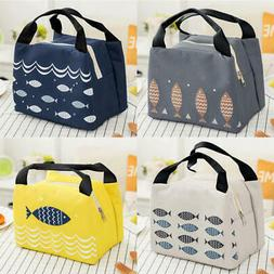 Lunch Bag Insulated Cool Carry Storage Food Picnic Bags Offi