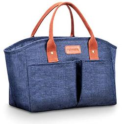 Lunch Bags for Women Insulated Fashionable Lunch Box Large A